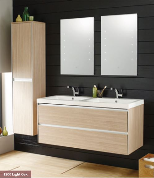 The shower centre dublin vanity units dublin vanity - Designer vanity units for bathroom ...